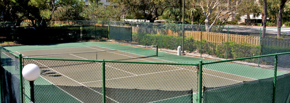 Boca Siesta Tennis Court